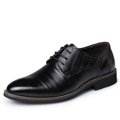 Merkmak Genuine High Quality Leather Mens Dress Shoes - armazonee Store