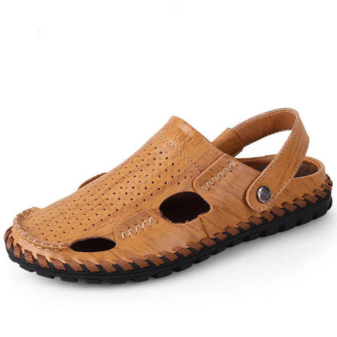 Merkmak Men Shoes Sandals Slipper Breathable Outdoor - armazonee Store