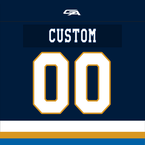 2020-21 Gemini Personalized Navy Jersey