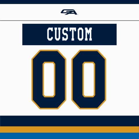 2020-21 Gemini Personalized White Jersey