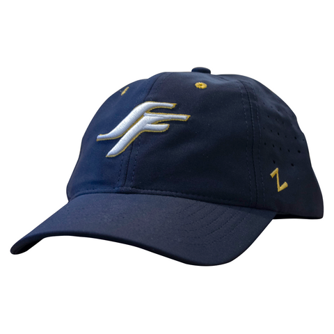 SF Lettering Hypercool Navy Hat