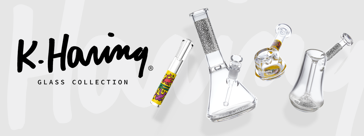 K.Haring Glass Collection Spotlight