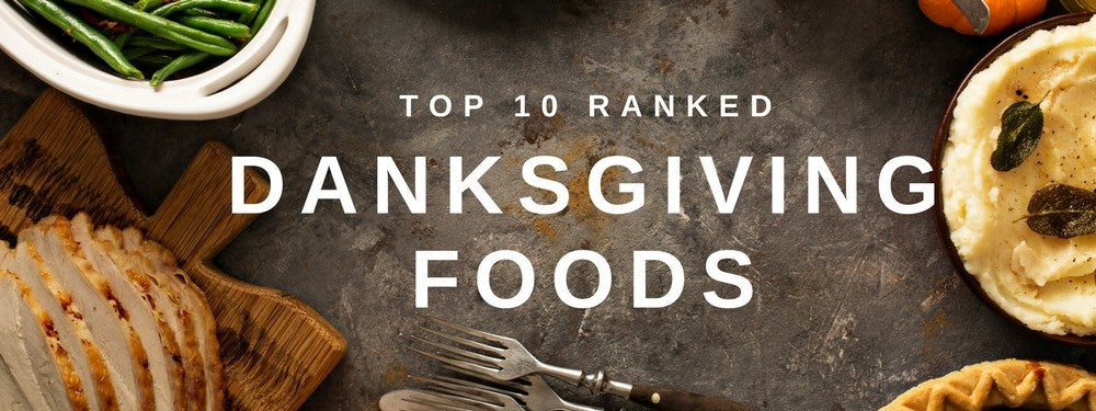TOP 10 THANKSGIVING FOODS - RANKED! – vapor com
