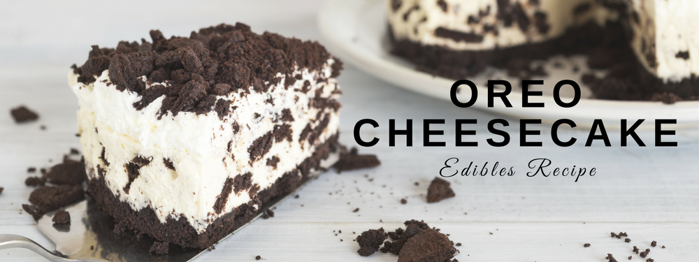 EDIBLES: Oreo Cookies 'N Cream Cheesecake