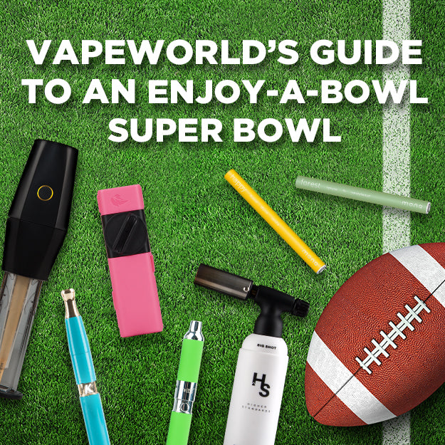 VapeWorld's Guide To An Enjoy-A-Bowl Super Bowl