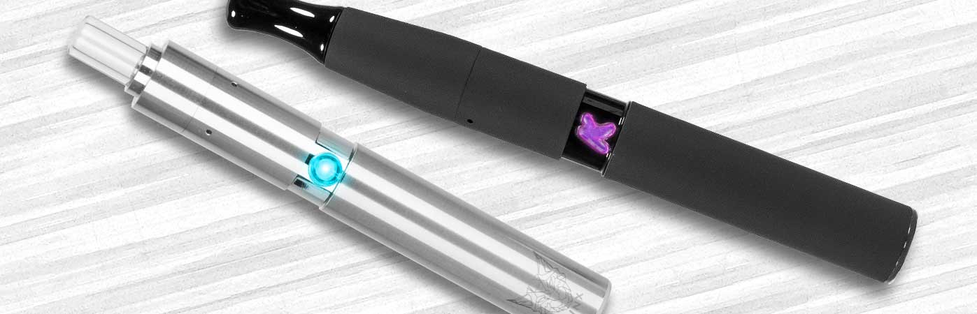 vaporizer pen section vaporizer buying guide image with kandypens vape pens on table
