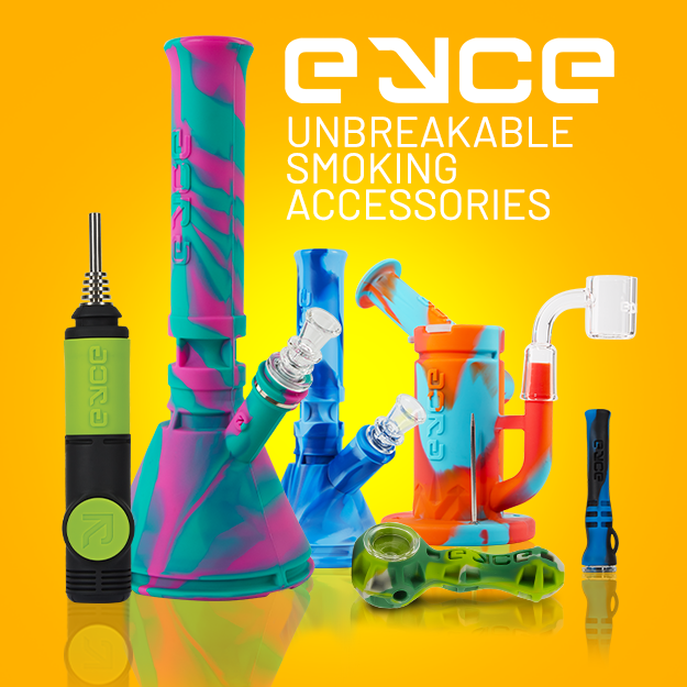 EYCE: Unbreakable Smoking Accessories