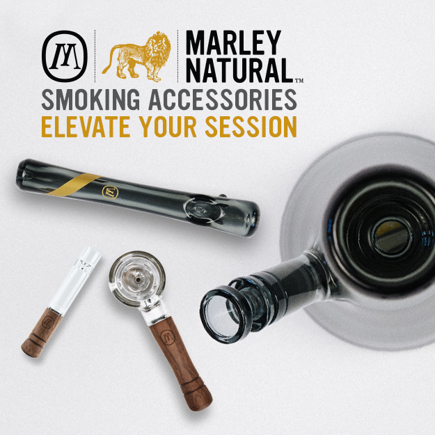 Marley Natural Smoking Accessories: Elevate Your Sessions