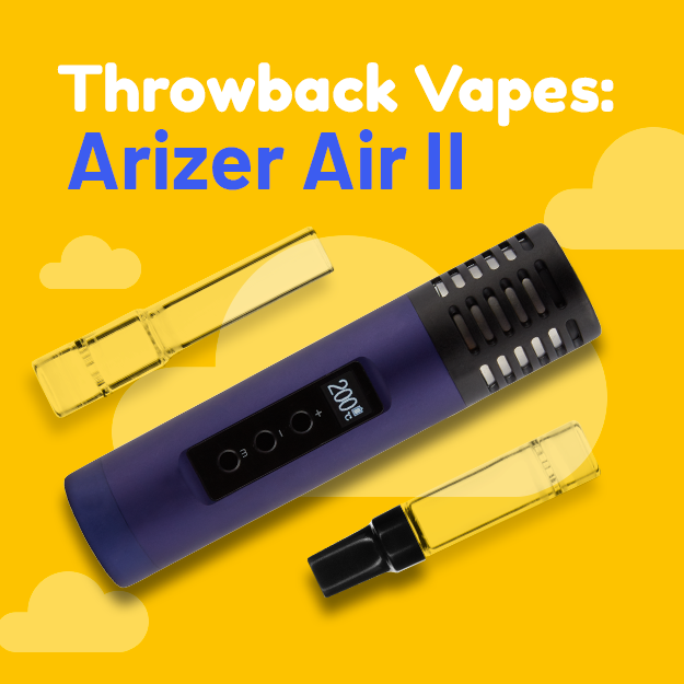 Throwback Vapes: The Arizer Air II