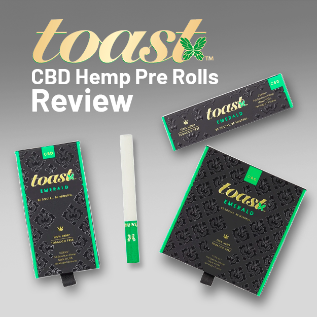 Toast CBD Hemp Pre Rolls Review