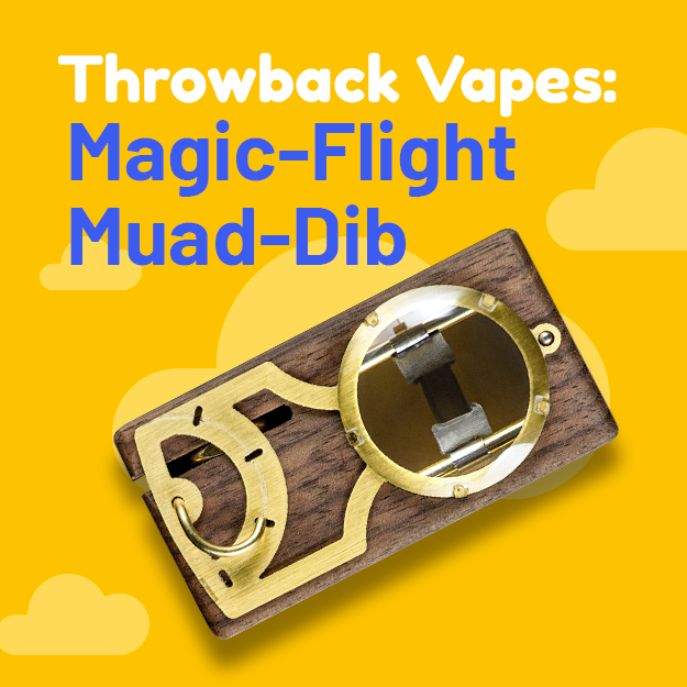 Throwback Vape Series: The Magic Flight Muad-Dib Concentrate Box