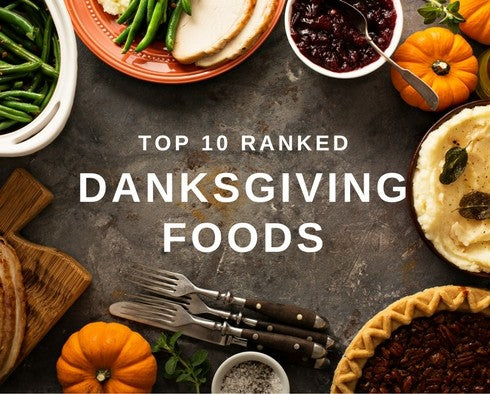 TOP 10 THANKSGIVING FOODS - RANKED!