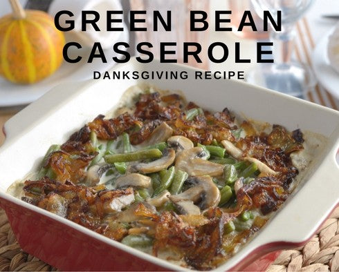 Extra Green, Green Bean Casserole Recipe