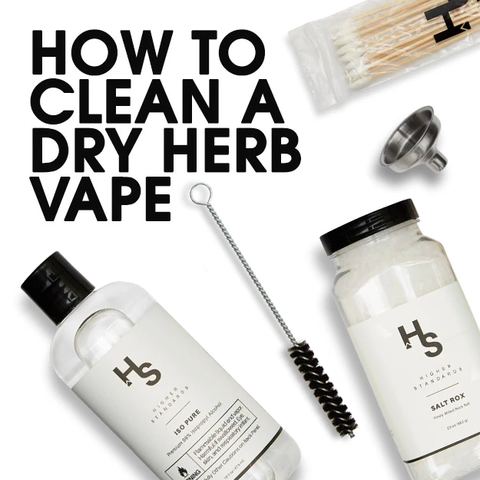 How To Clean A Dry Herb Vape: A Quick Guide