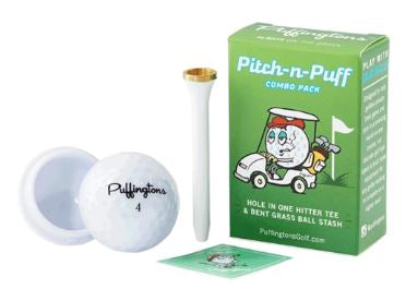 Puffington's Pitch n Puff One Hitter and Stash Ball