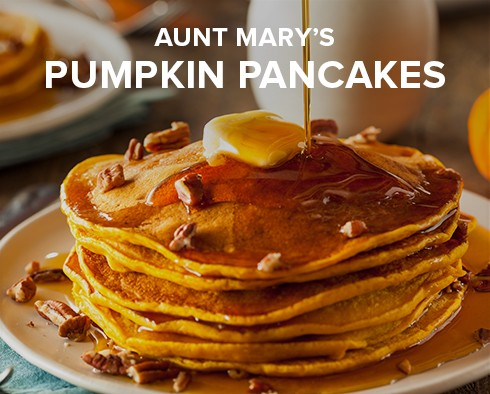 Infused Pumpkin Pancakes Recipe