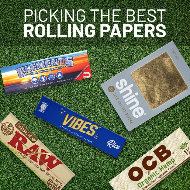 Picking The Best Rolling Papers