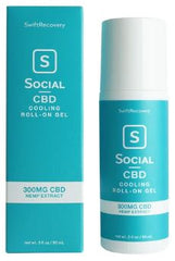 Social CBD Cooling Roll On Gel