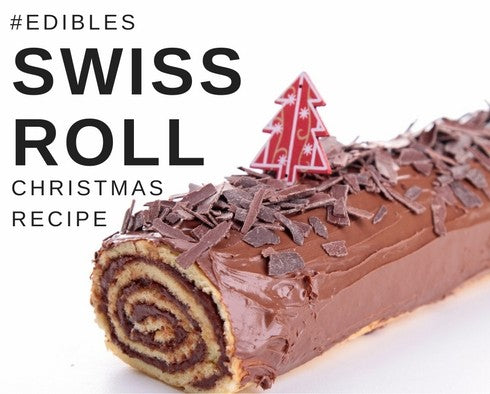 Christmas Edibles: Swiss Roll