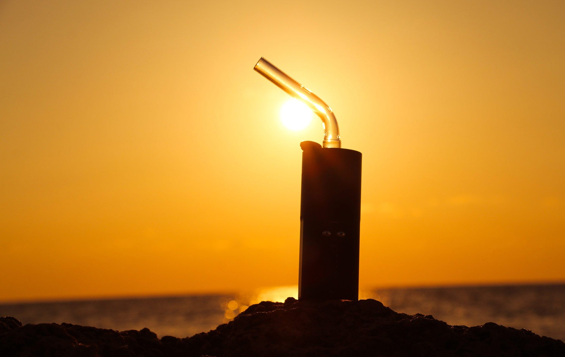 Featured Wallpaper Download: Sunrise with Arizer Solo