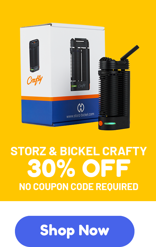 Storz & Bickel Crafty - 30% off - No coupon code required