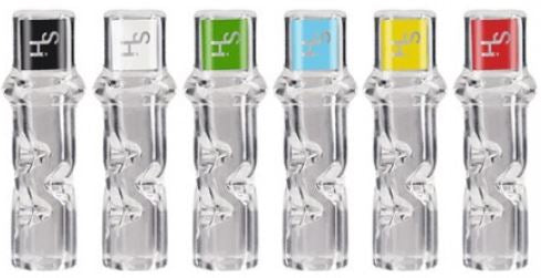 Higher Standards Glass Tips filter and cool each hit.