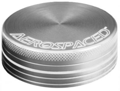 The Aerospaced Grinder is compact and functional for on-the-go grinding.