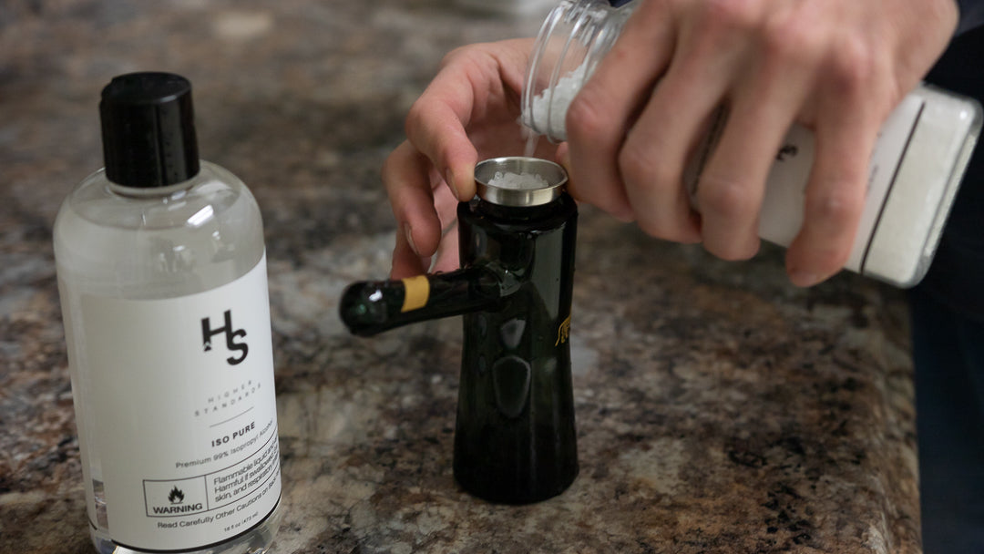 cleaning-a-bubbler-solution-mix