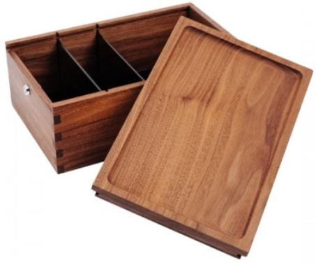 Marley Natural Stash Box keeps your pipes and accessories under lock and key.