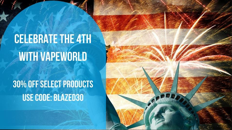 VapeWorld 4th of July Sale | Celebrate Independence Day with 30% Off Select Products