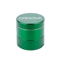 "4 Piece CNC Groove Grinder/Sifter | 3.0"" (75mm) 