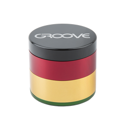"4 Piece CNC Groove Grinder/Sifter | 2.5"" (63mm) 