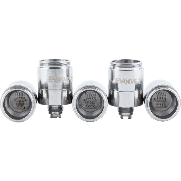 Yocan Evolve Plus Dual Quartz Atomizer 5 Pack
