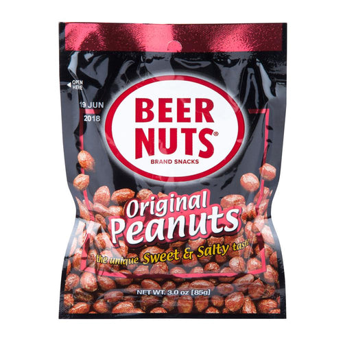 BEER NUTS® Original Peanuts - Mid Size Bag