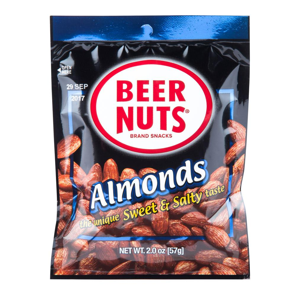 BEER NUTS® Almonds Mid Size Bag