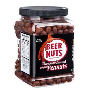 Chocolate Covered Original Peanuts- Party Size Jar