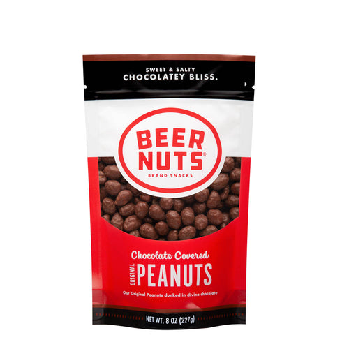 Chocolate Covered Original Peanuts - Half-Pounder