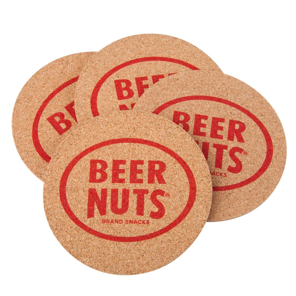 BEER NUTS® Cork Coasters