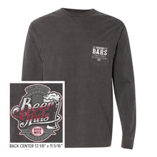 Behind Bars Long Sleeve Pocket T-Shirt - Charcoal