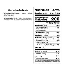 Macadamia Nuts - Standard Issue Bag