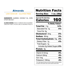 Almonds - Mid Size Bag
