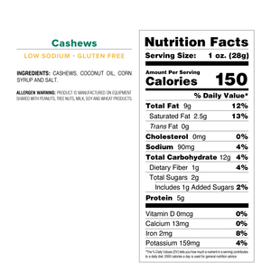 Cashews - Mid Size Bag