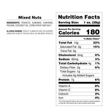 Mixed Nuts - Back-Up Bag