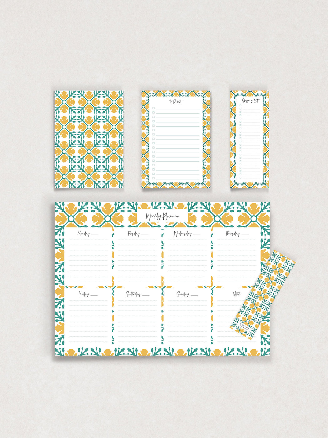 Lellux Essentials Stationery Set