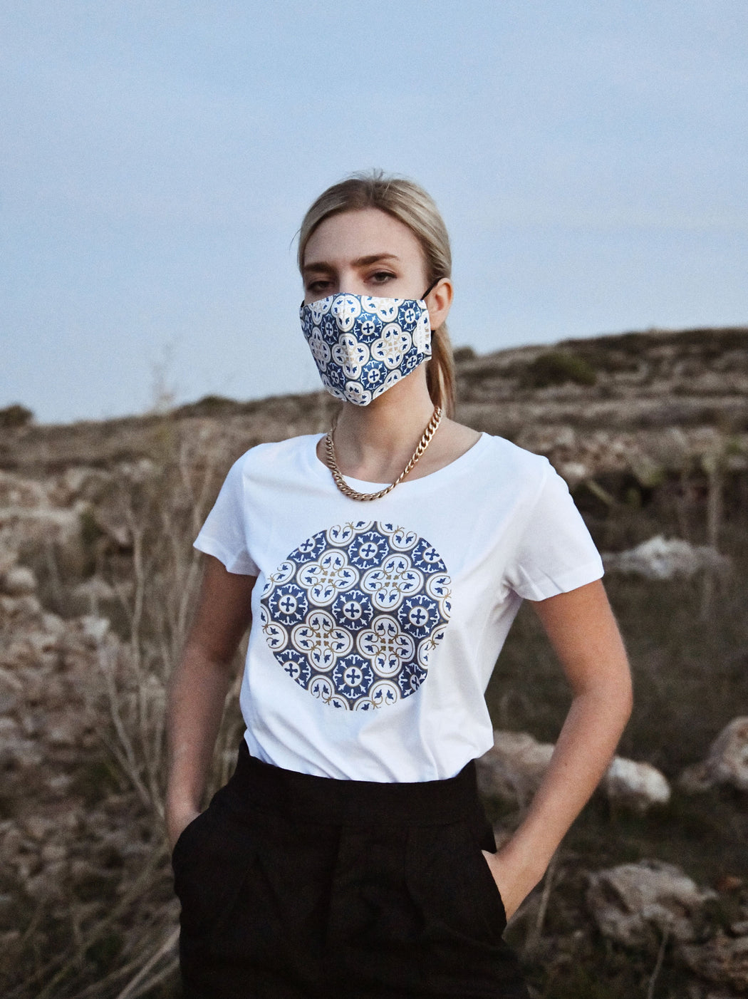 MADUMA T-Shirt Women + Face Mask