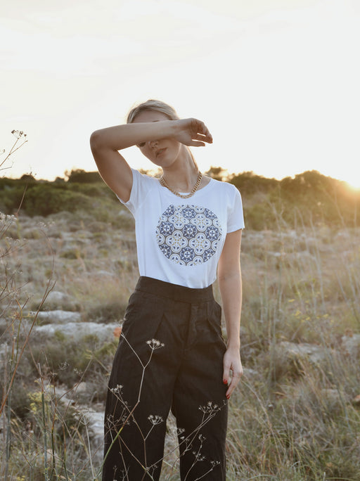 MADUMA Ikħal Pattern T-Shirt Women