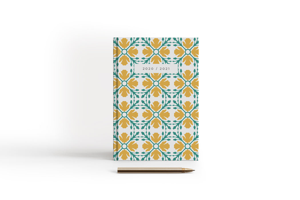 Academic Patterned Diary 20/21