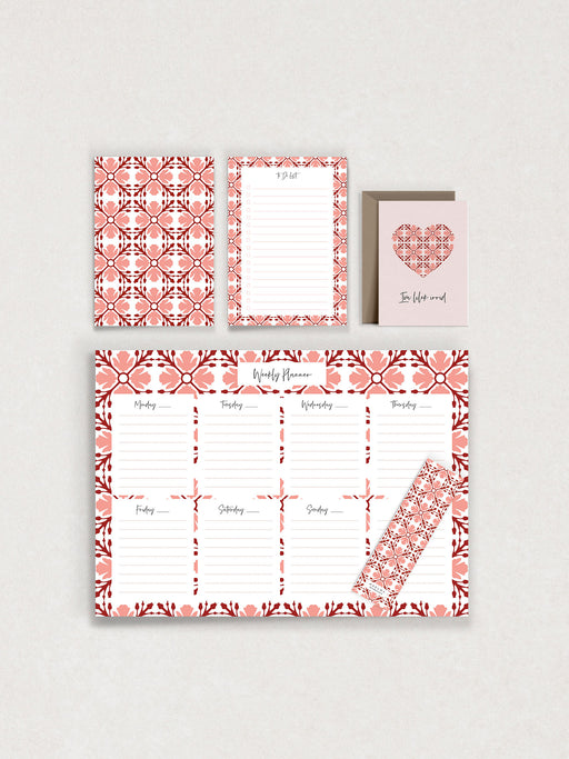 Warda Stationery Set Valentine's Offer
