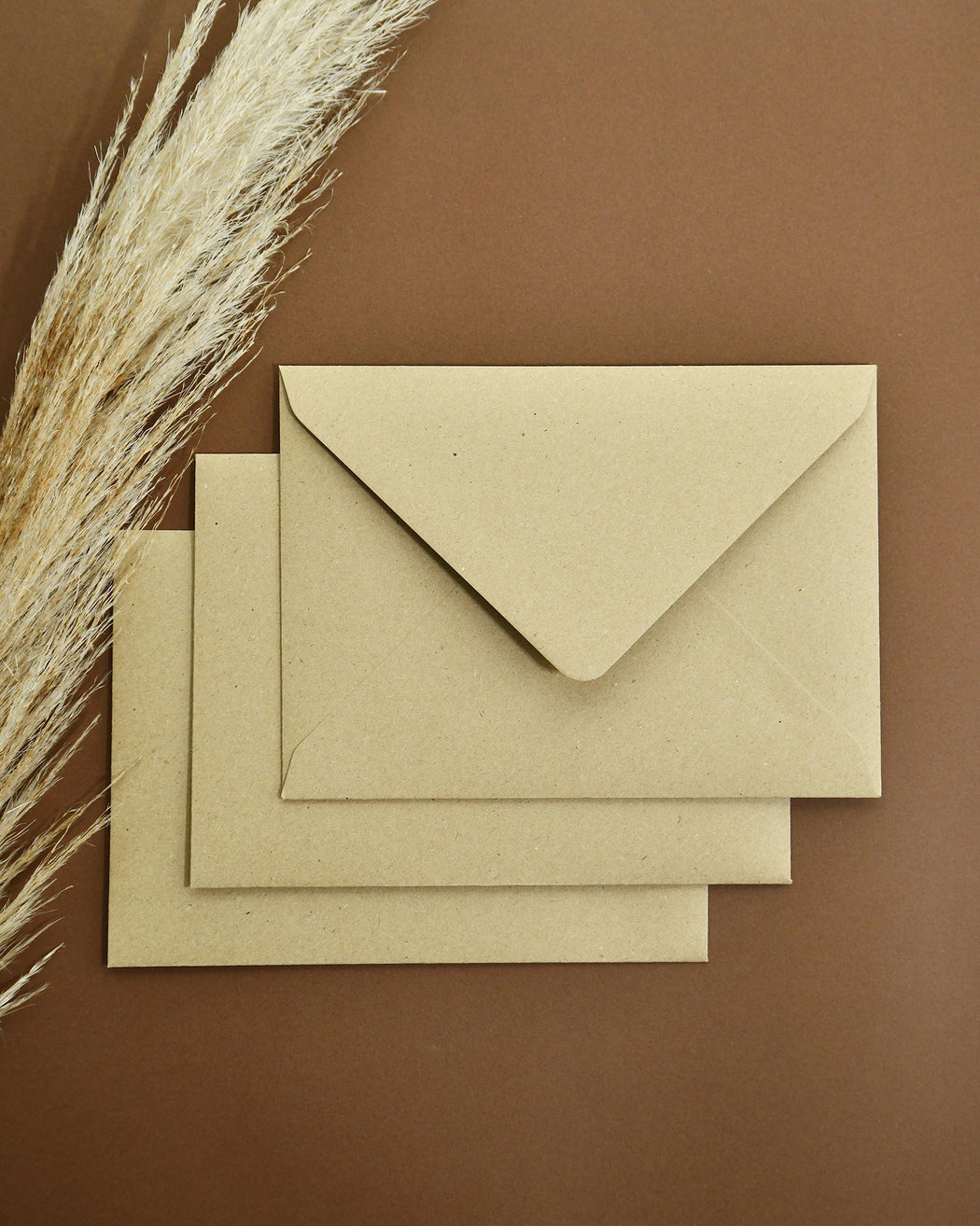Wedding Invitations - Kraft Lux Paper