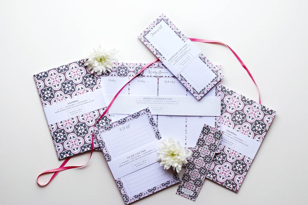 Roża Stationery Set